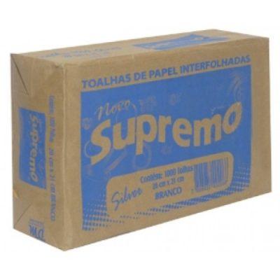 Papel Toalha Interfolha Supremo Silver 1000 Folhas