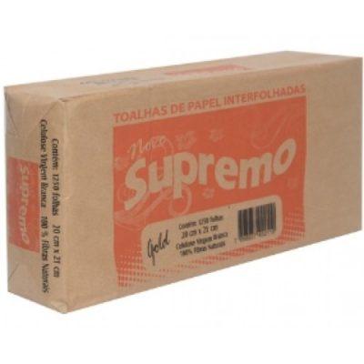 Papel Toalha Interfolha Supremo 100% Celulose 1250 Folhas