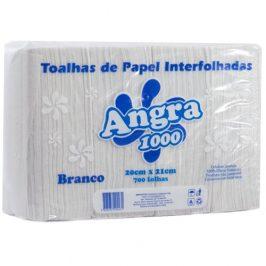 Papel Toalha Interfolha Branco Angra 1000