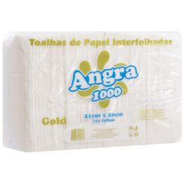 Papel Toalha Interfolha 100% Celulose Angra 1000